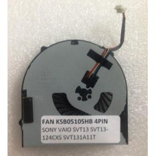 Кулер для ноутбука Sony SVT13, FAN KSB05105HB 4PIN