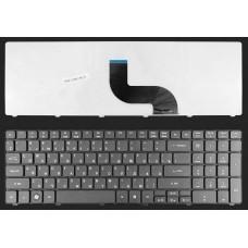 Клавиатура для ноутбука Acer Aspire 5750, 5755, 5830, V3-551, V3-571, черная, ru/eng
