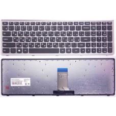 Клавиатура для ноутбука Lenovo U510, Black, ru/eng, с рамкой
