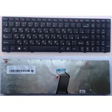 Клавиатура для ноутбука Lenovo Z560, Z565, B570, B575, B580, G570, G575, V570, G770, Black, ru/eng