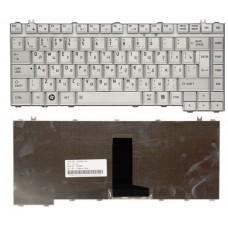 Клавиатура для ноутбука Toshiba A200, M200, серебристая, ru/eng
